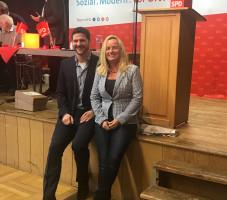 Jan-Michael Fischer und Xenia Keil