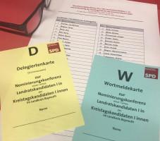 Delegiertenkarte